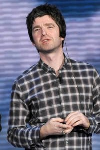 "Noel Gallagher - Oasis Guest on the Italian TV Talk Show ""Che tempo che fa"" in Milan"