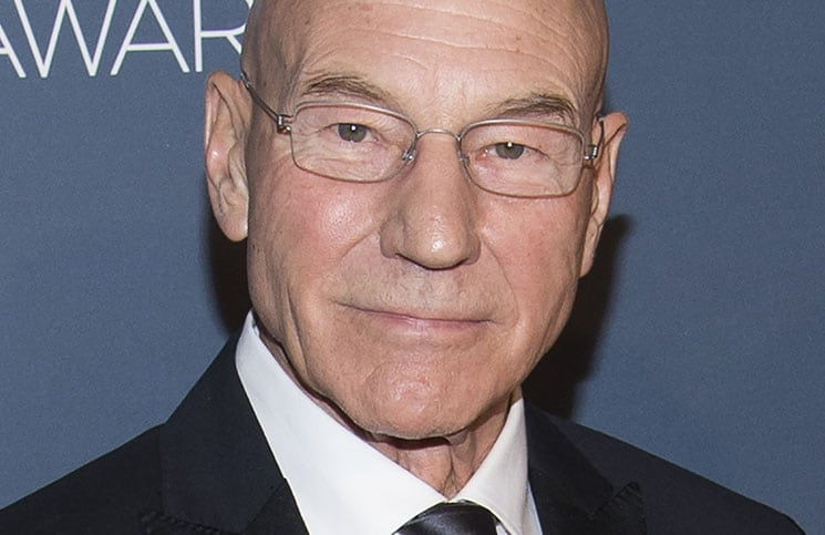 Patrick Stewart - 2014 American Comedy Awards in New York City