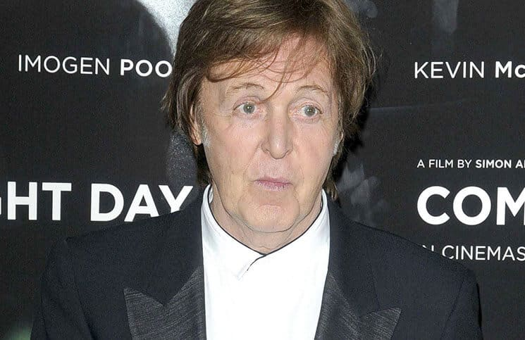 "Paul McCartney - ""Comes a Bright Day"" UK Premiere"
