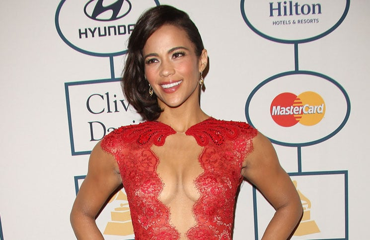 Paula Patton - 56th Annual Grammy Awards