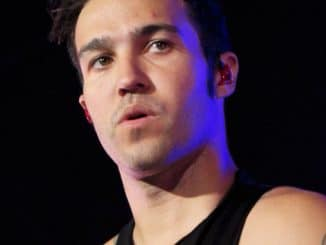 Pete Wentz - Monumentour with Fall Out Boy and Paramore in Concert at Verizon Wireless Amphitheatre in Irvine