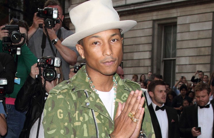 Pharrell Williams - GQ Men of the Year Awards 2014 - Arrivals