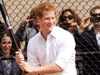 Prince Harry Visits Harlem RBI in New York City