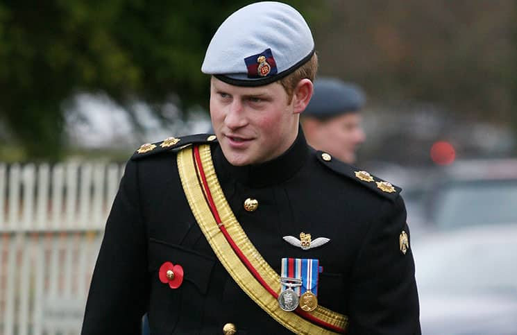 Prince Harry Attends the Opening of the Lydiard Park Wootton Bassett Remembrance Field on November 9, 2010