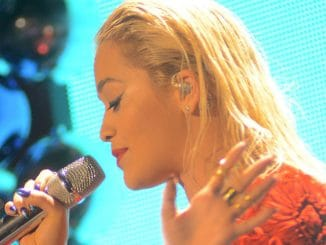 Rita Ora - 103.3 KISS FM Jingle Ball 2014 at Allstate Arena in Rosemont