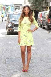 Rochelle Humes Launches Her Fashion Collection for Very.co.uk - Claridge's Hotel - London, UK