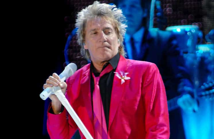 Rod Stewart in Concert at Liverpool Echo Arena