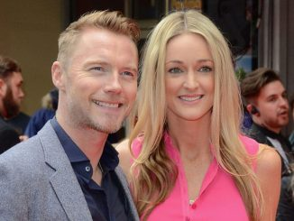"""Ronan Keating and Storm Uechtritz - """"Postman Pat: The Movie"""" World Premiere"""
