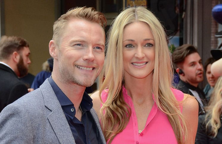 "Ronan Keating and Storm Uechtritz - ""Postman Pat: The Movie"" World Premiere"