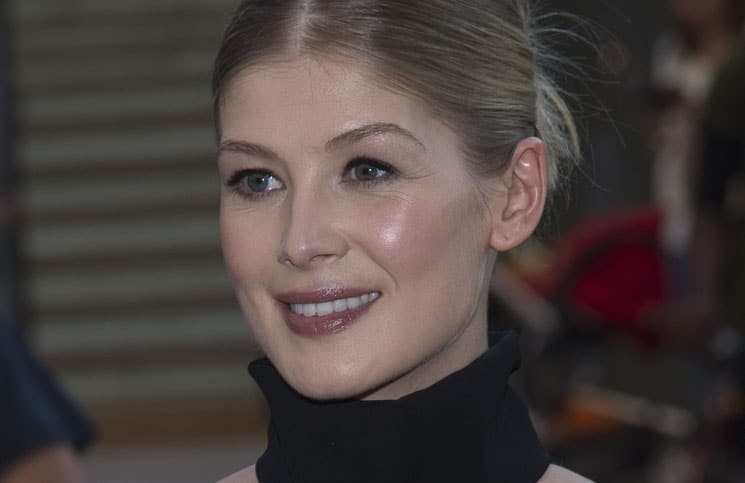 Rosamund Pike - 52nd Annual New York Film Festival - Opening Night Gala