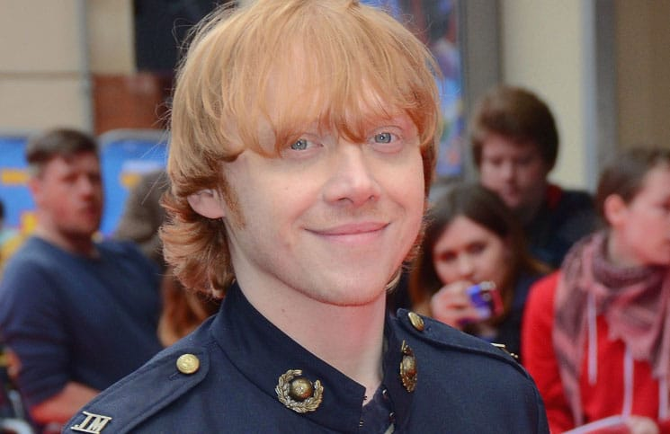"Rupert Grint - ""Postman Pat: The Movie"" World Premiere - Arrivals - Odeon West End, Leicester Square"