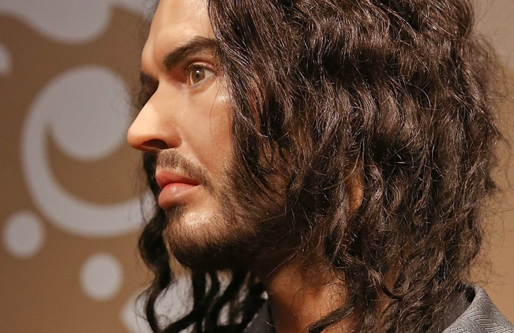 Russell Brand Waxwork Figure - Madame Tussauds London