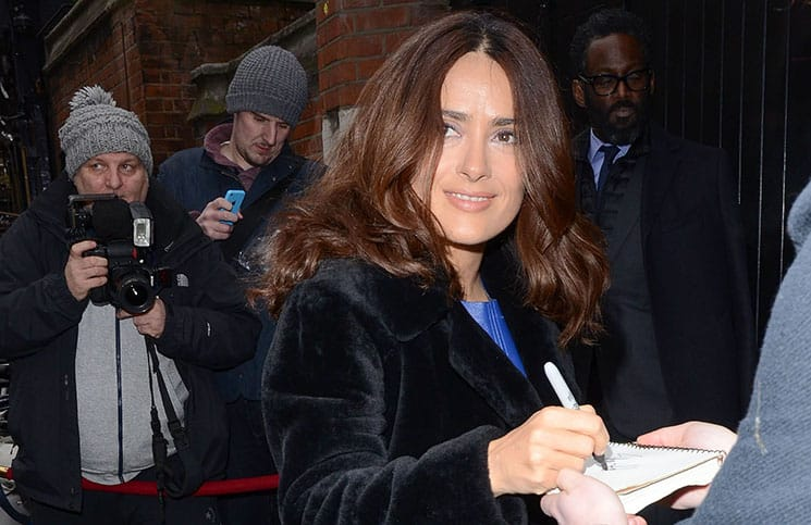 Salma Hayek - 2015 Pre-BAFTA VIP Brunch - The Chiltern Firehouse