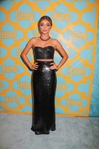Sarah Hyland - 72nd Annual Golden Globe Awards - HBO Afterparty