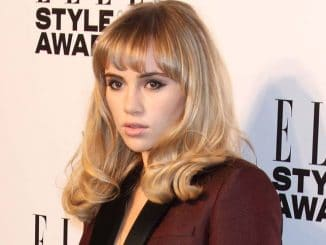 Suki Waterhouse - Elle Style Awards 2014