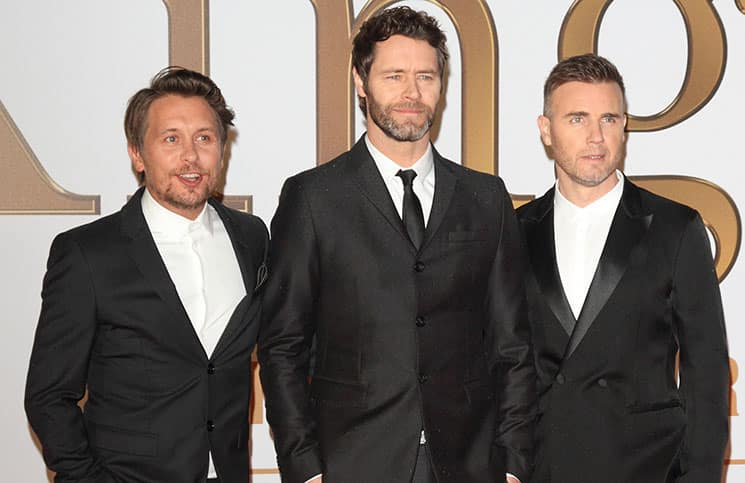 "Take That - ""Kingsman: The Secret Service"" World Premiere"