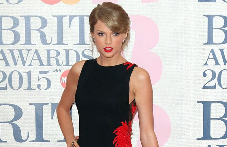 Taylor Swift - BRIT Awards 2015 - Arrivals
