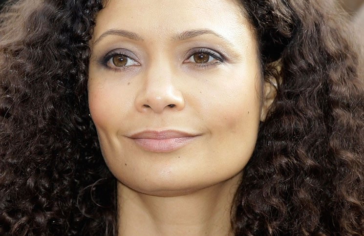 Thandie Newton - V-Day One Billion Rising Photocall at Parliament Square in London