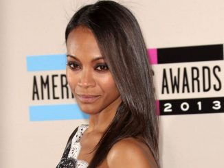 Zoe Saldana - 41st Annual American Music Awards