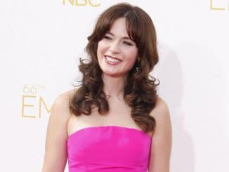 Zooey Deschanel - 66th Annual Primetime Emmy Awards